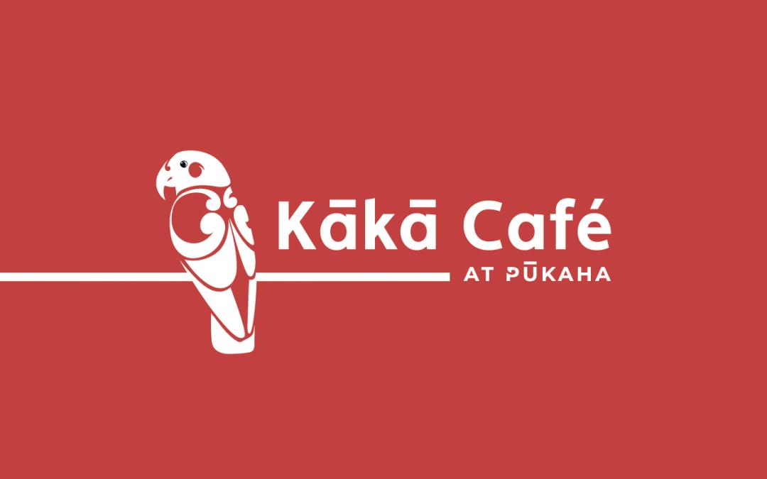Kākā Café: Logo & Media