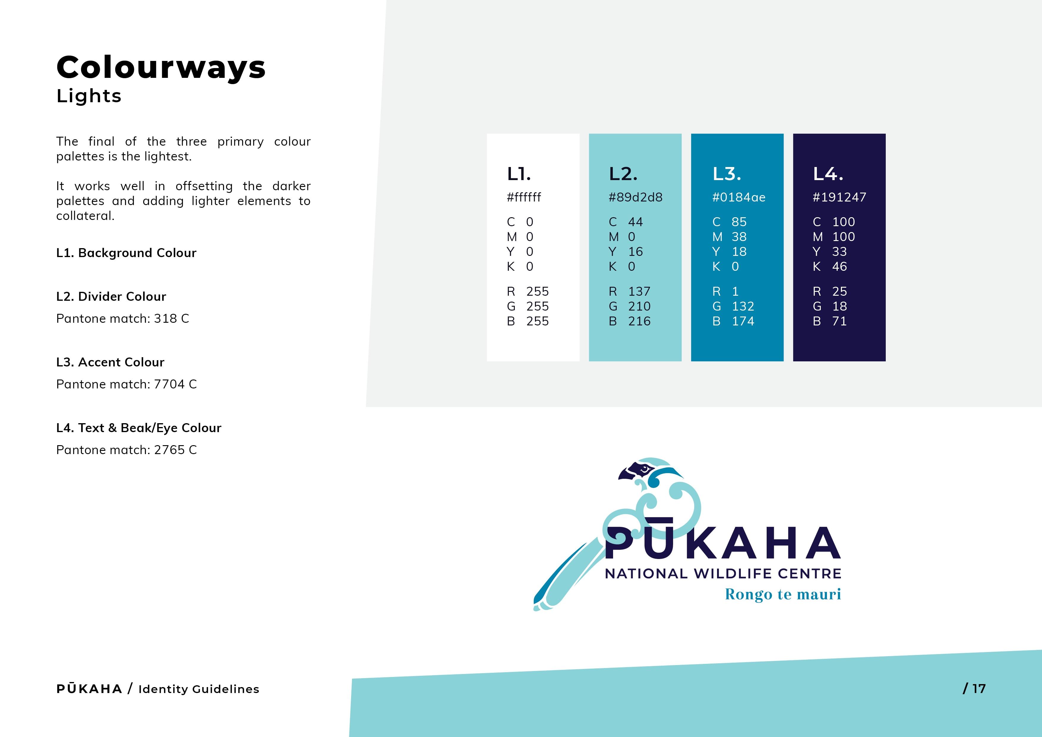 Pukaha Identity Guidelines17