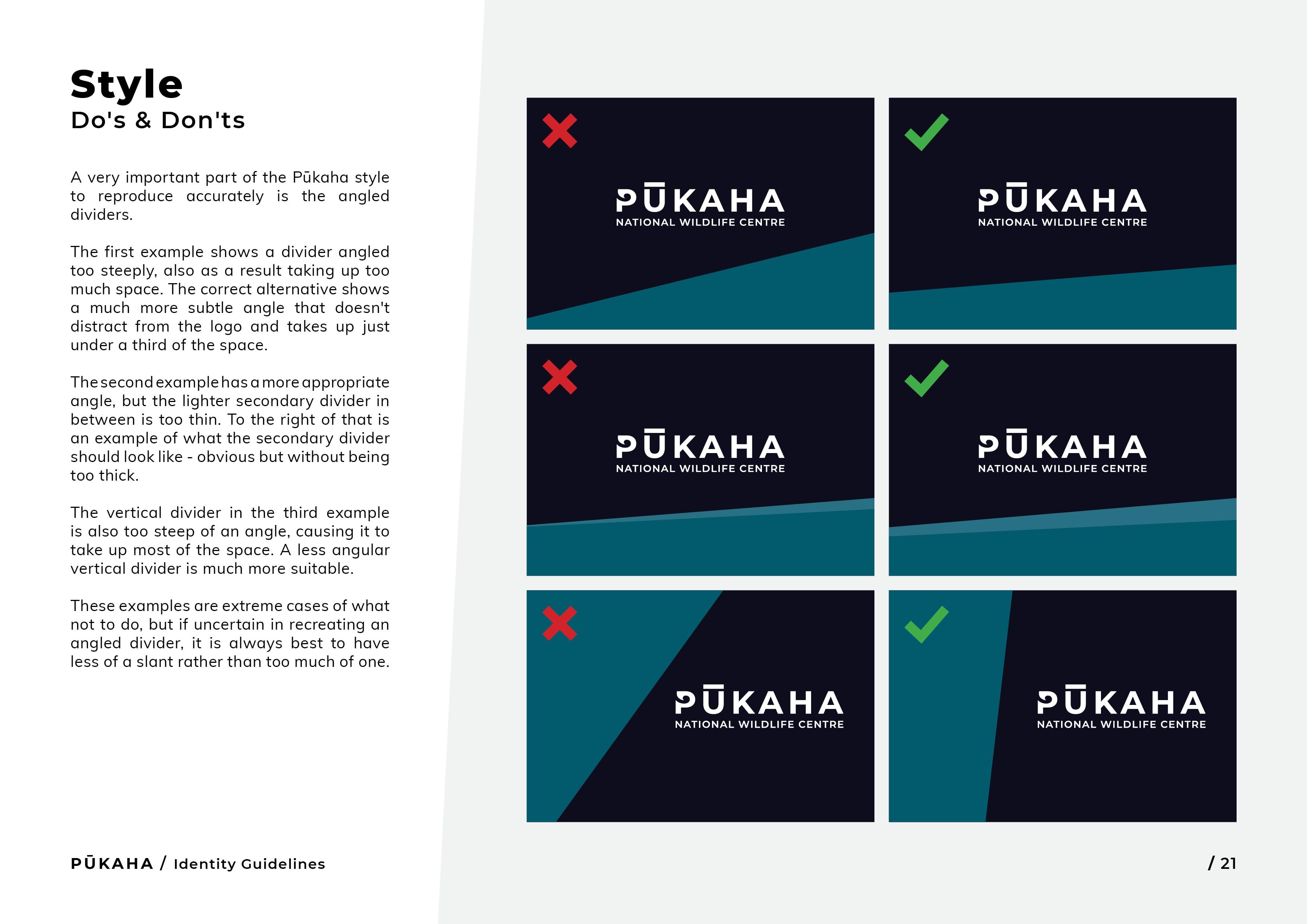 Pukaha Identity Guidelines21