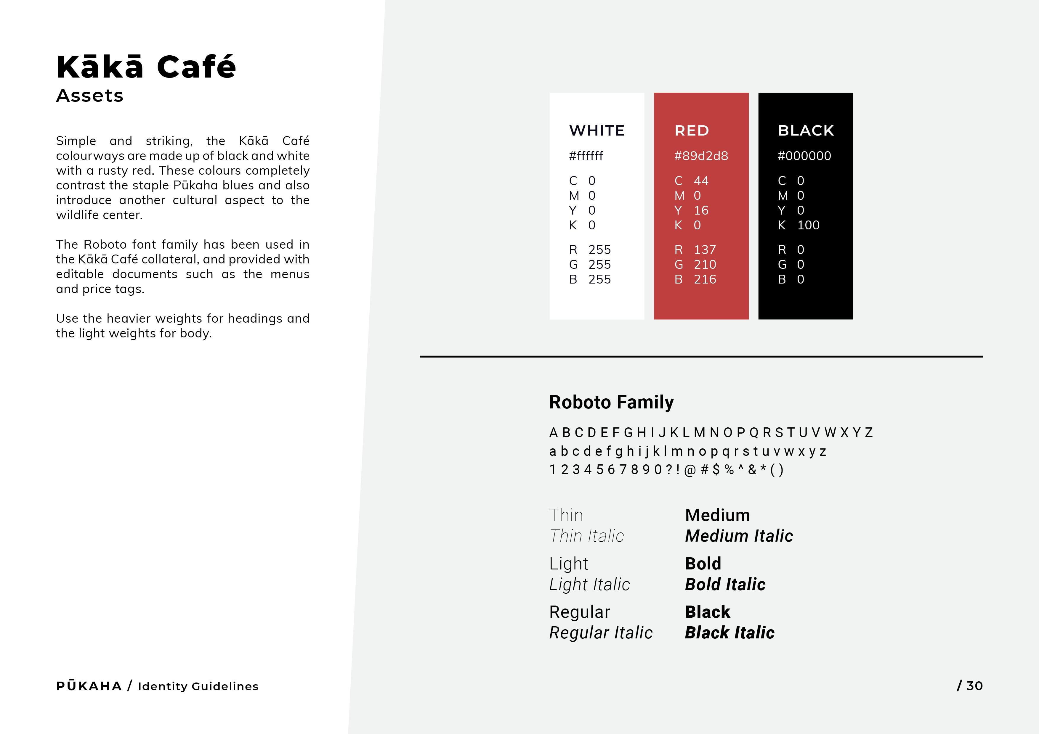 Pukaha Identity Guidelines30