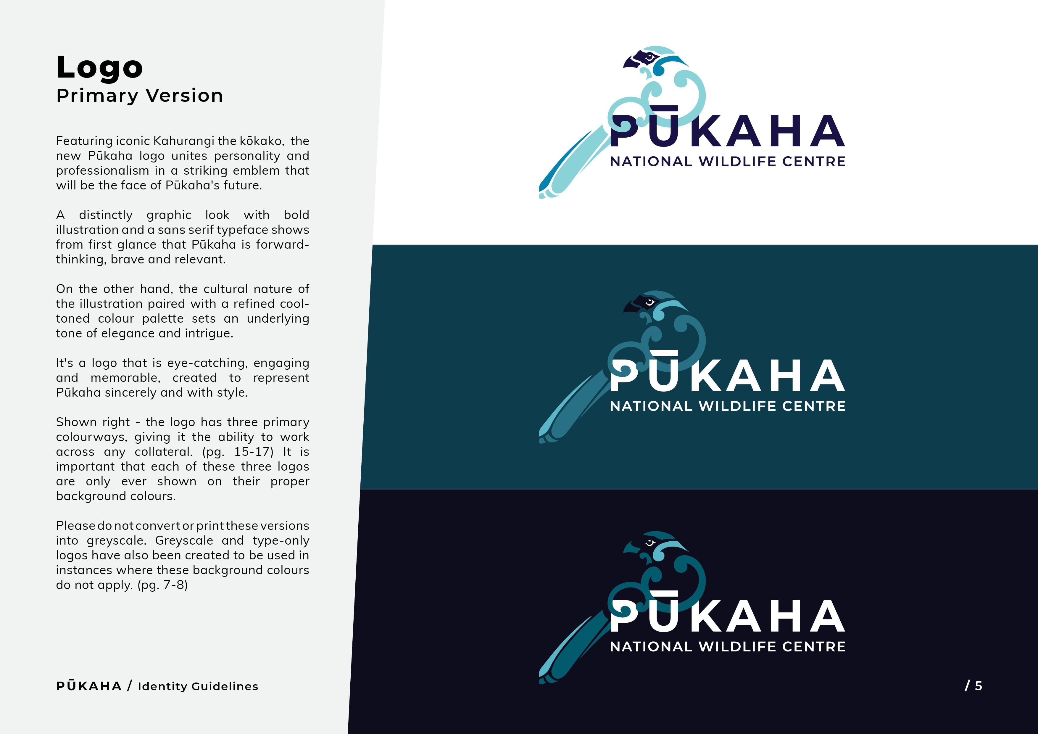 Pukaha Identity Guidelines5