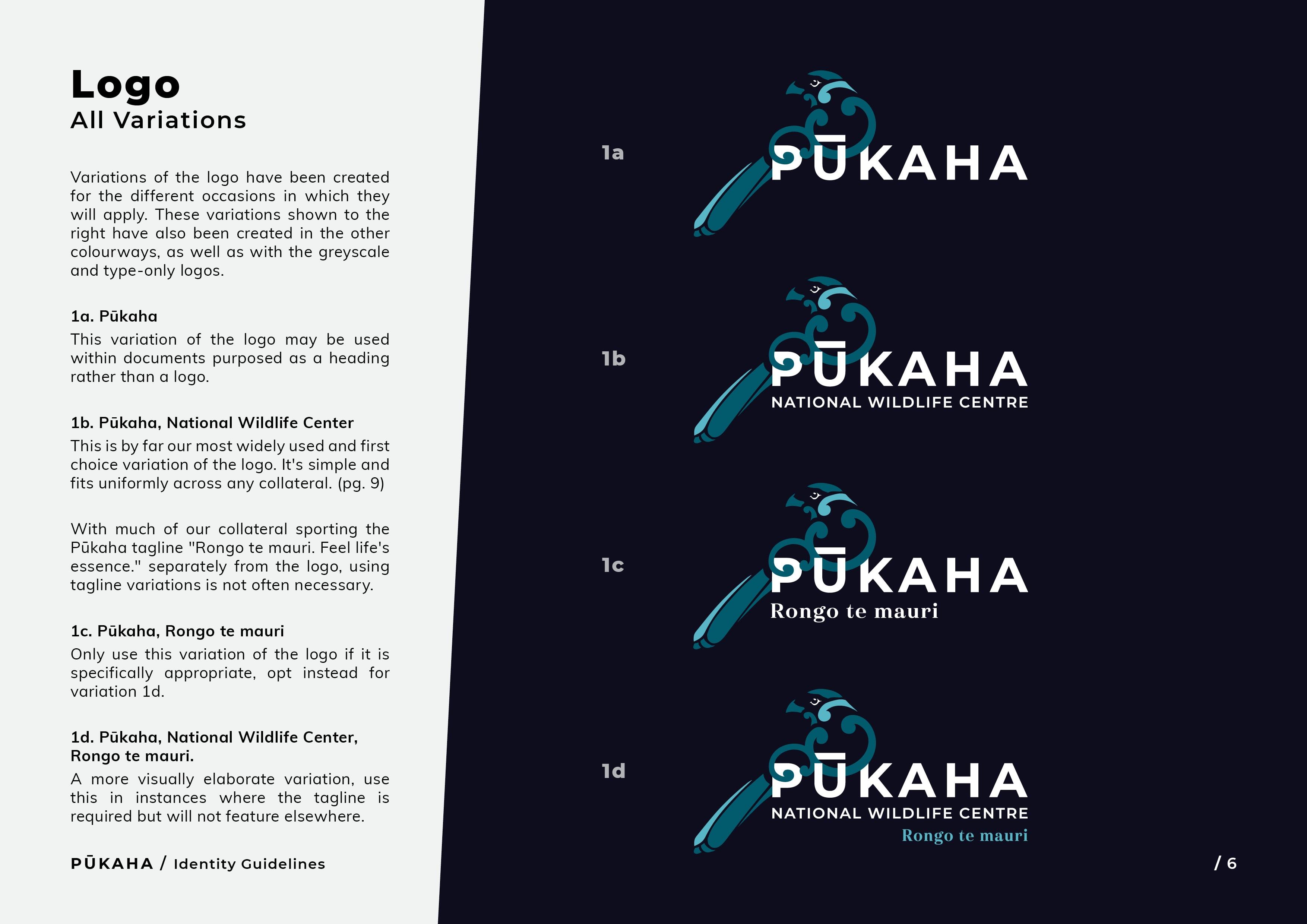 Pukaha Identity Guidelines6