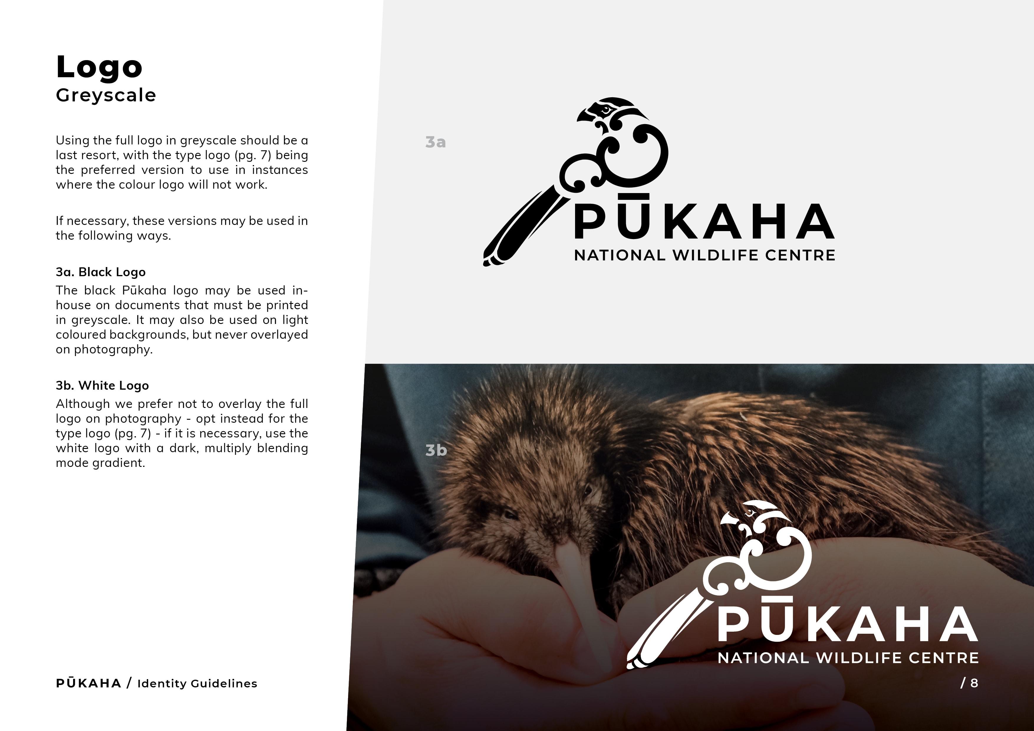 Pukaha Identity Guidelines8