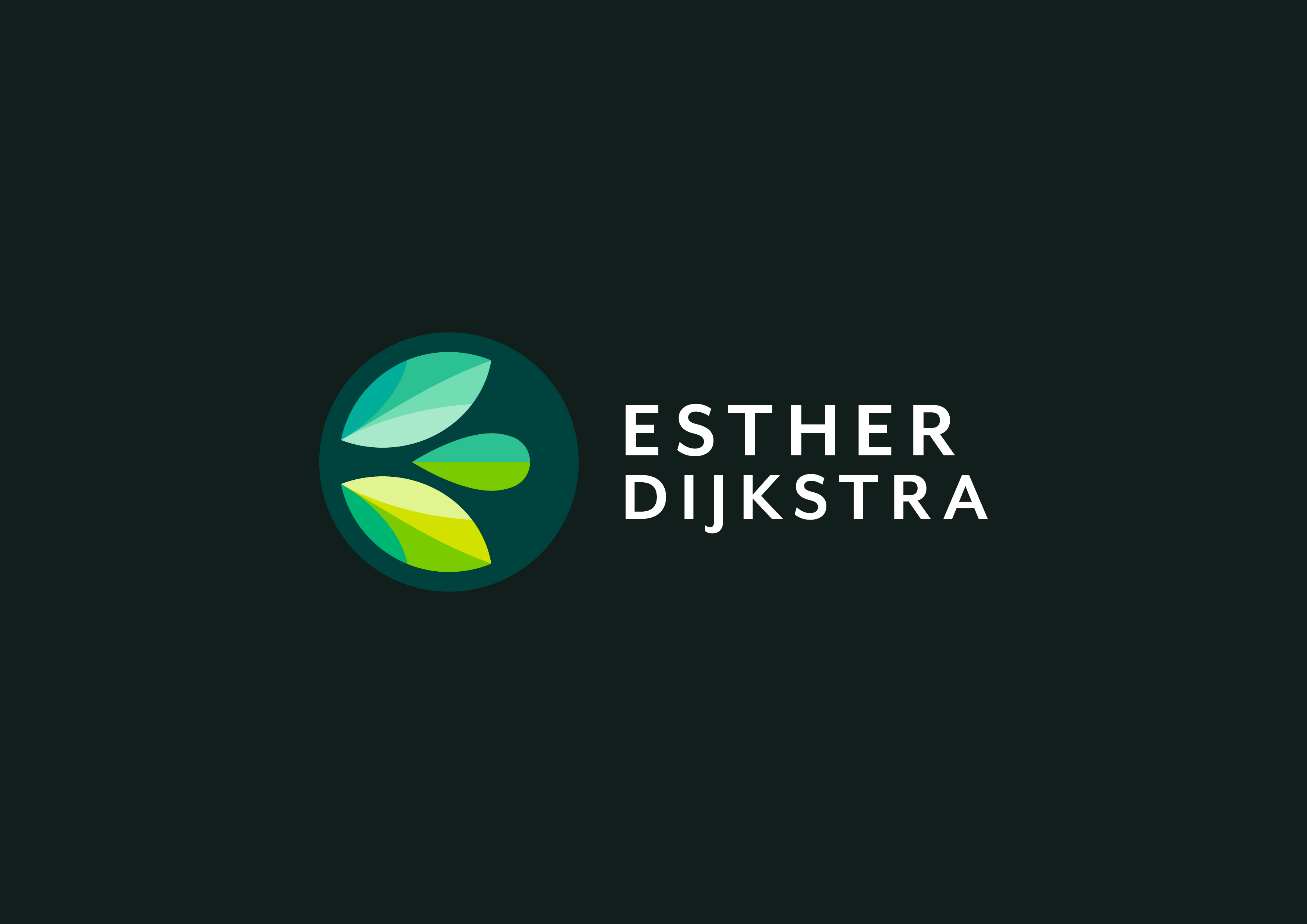 Esther Dijkstra Logo Full Colour Dark