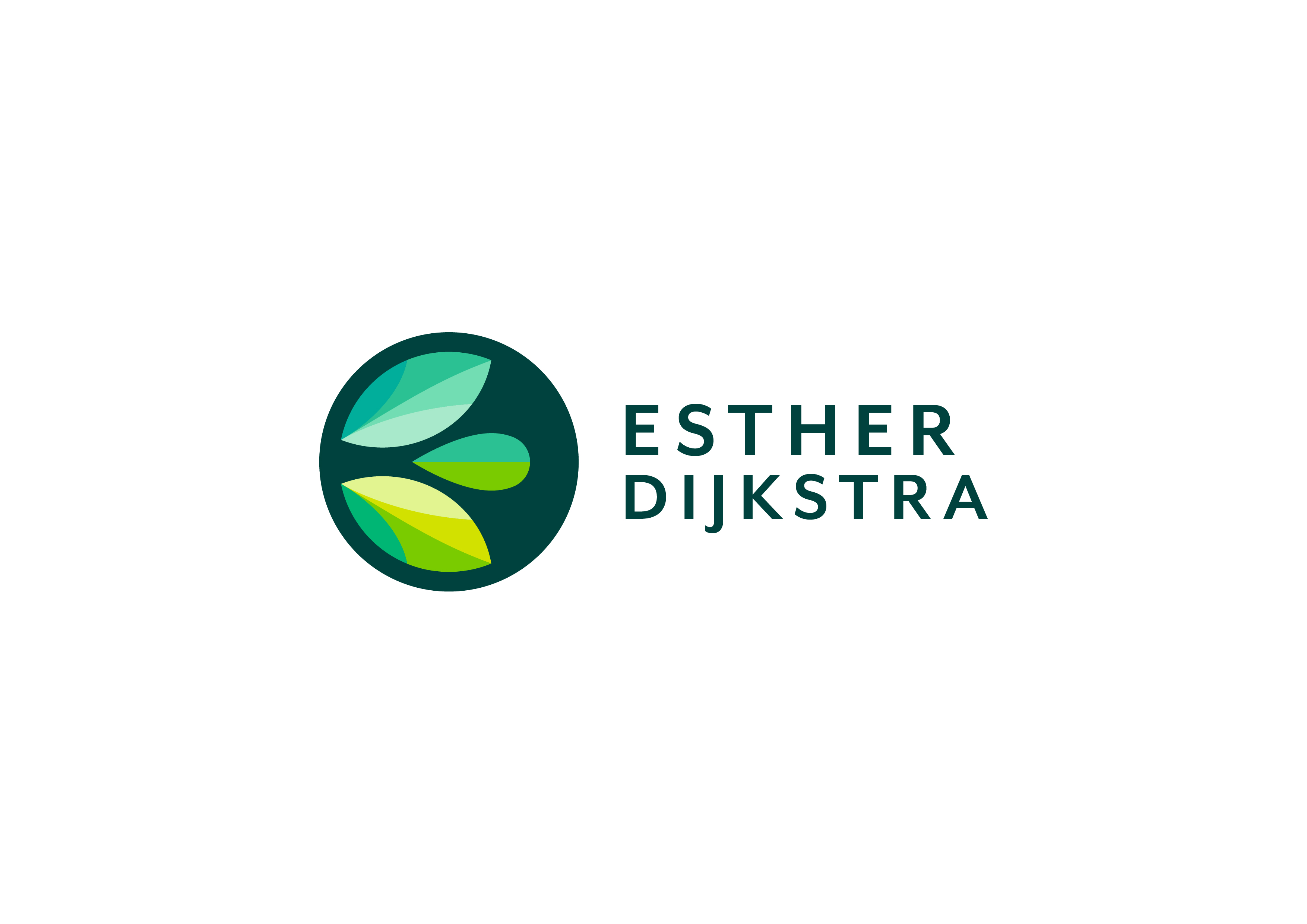 Esther Dijkstra Logo Full Colour Light