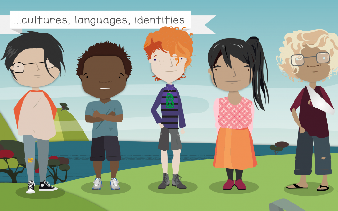 Illustrations for Core Education Videos : Media