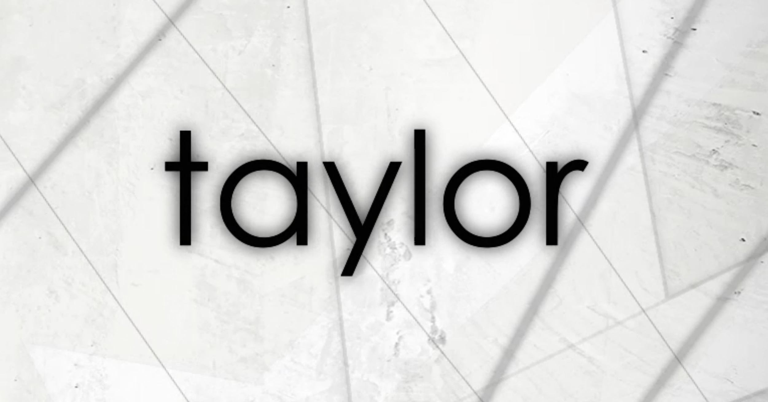 Taylor 2013 Video