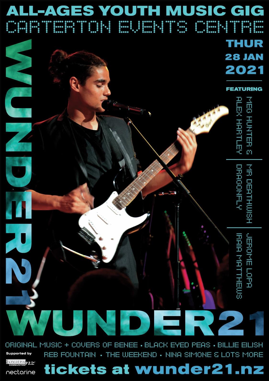 Wunder21 Poster Alex Nectarine Portfolio
