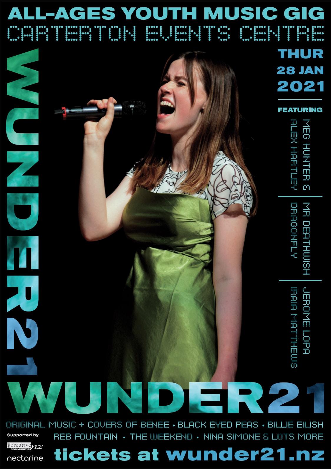 Wunder21 Poster Meg Nectarine Portfolio