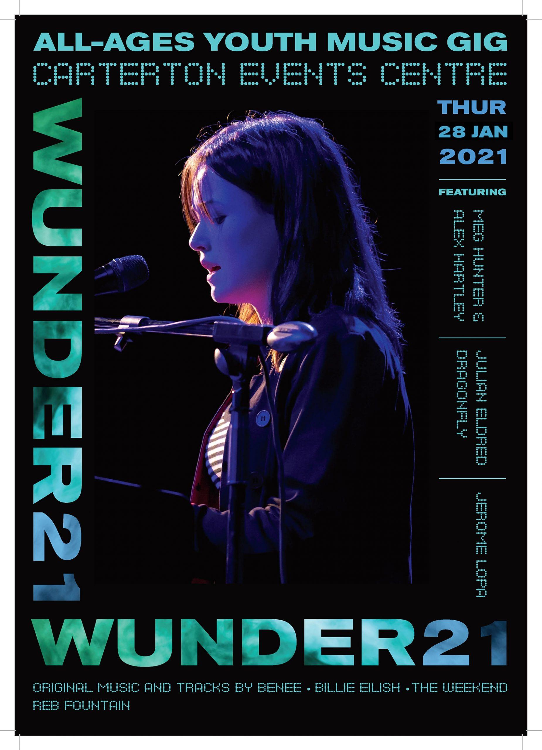 Wunder21 Poster Meg V2 Nectarine Portfolio