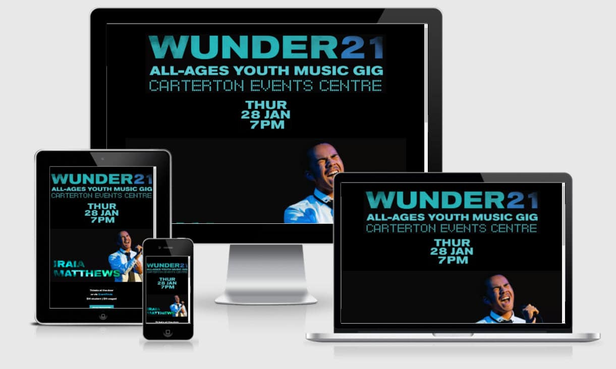 Wunder21 Responsive Nectarine Portfolio