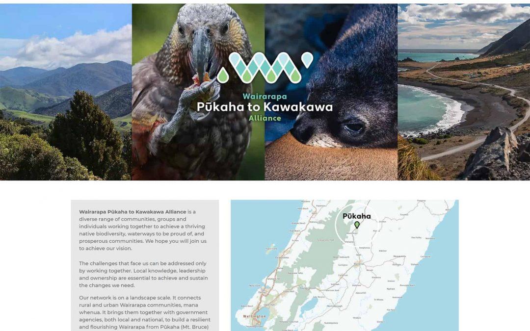 Pūkaha to Kawakawa Alliance : Website