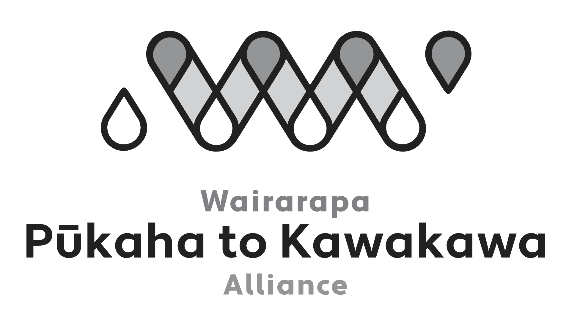 Pukaha To Kawakawa Logo Greyscale Nectarine Portfolio